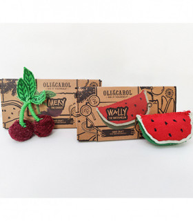 Pack regalo: DIY Wally the Watermelon & DIY Mery the Cherry